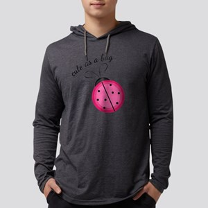 Cute As Bug Mens Hooded Shirt